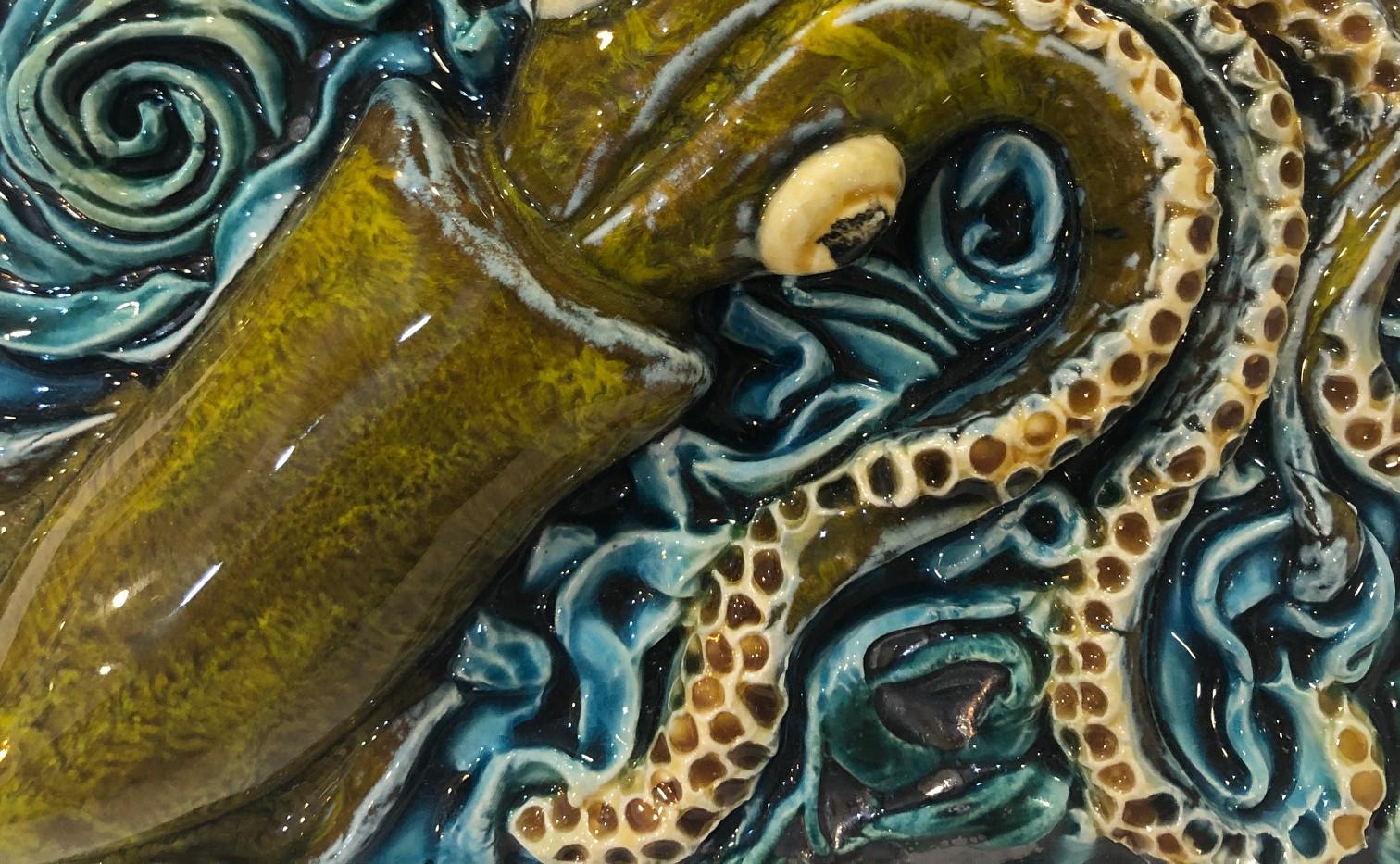 Portuguese tile. Azulejos. Squid.Maria#2