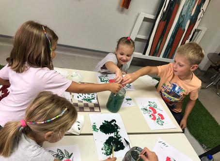 Petrykivka painting workshop!