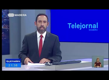 Hire Me Online Project featured on RTP Madeira