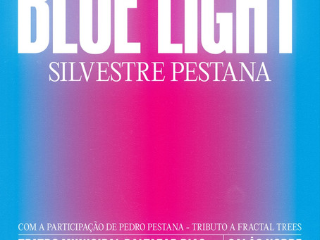 """ Fractal Trees"" by Silvestre Pestana -Blue Light exhibition"