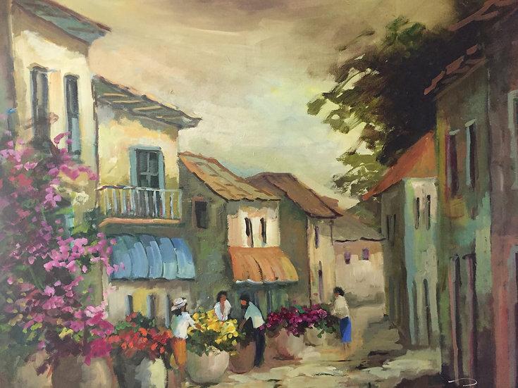 Poli Sonia.STREET OF FLOWERS