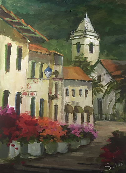 Poli Sonia.VILLAGE CHURCH, Madeira.