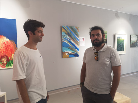 """""""Art is life, you just have to recognize it...""""Pedro Alves for """"Islands 2020.Isolation"""" and 2021."""