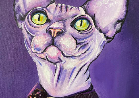 Cats painting. New from Art Center Caravel