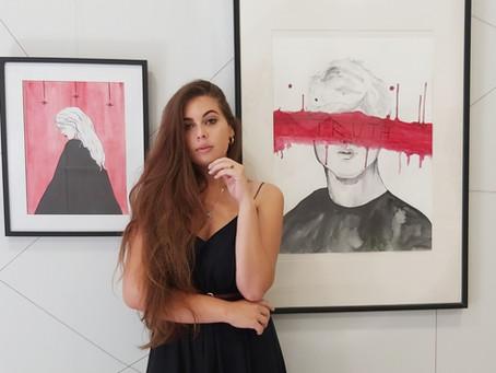 """Elisabeth Den (Ukraine)for Art show """"Islands.2021.REVIVAL"""""""