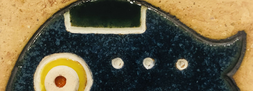 Portuguese tile. Azulejos. Mario.Fishes #8
