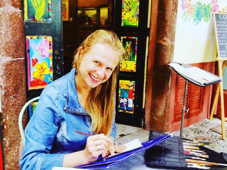 """Marta Horodniczy for Art show """"Islands 2021.Revival"""""""