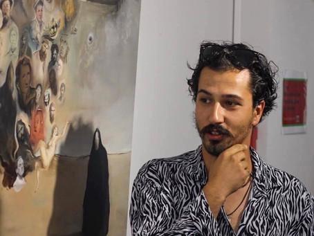 Samuel Santos at Art Center Caravel