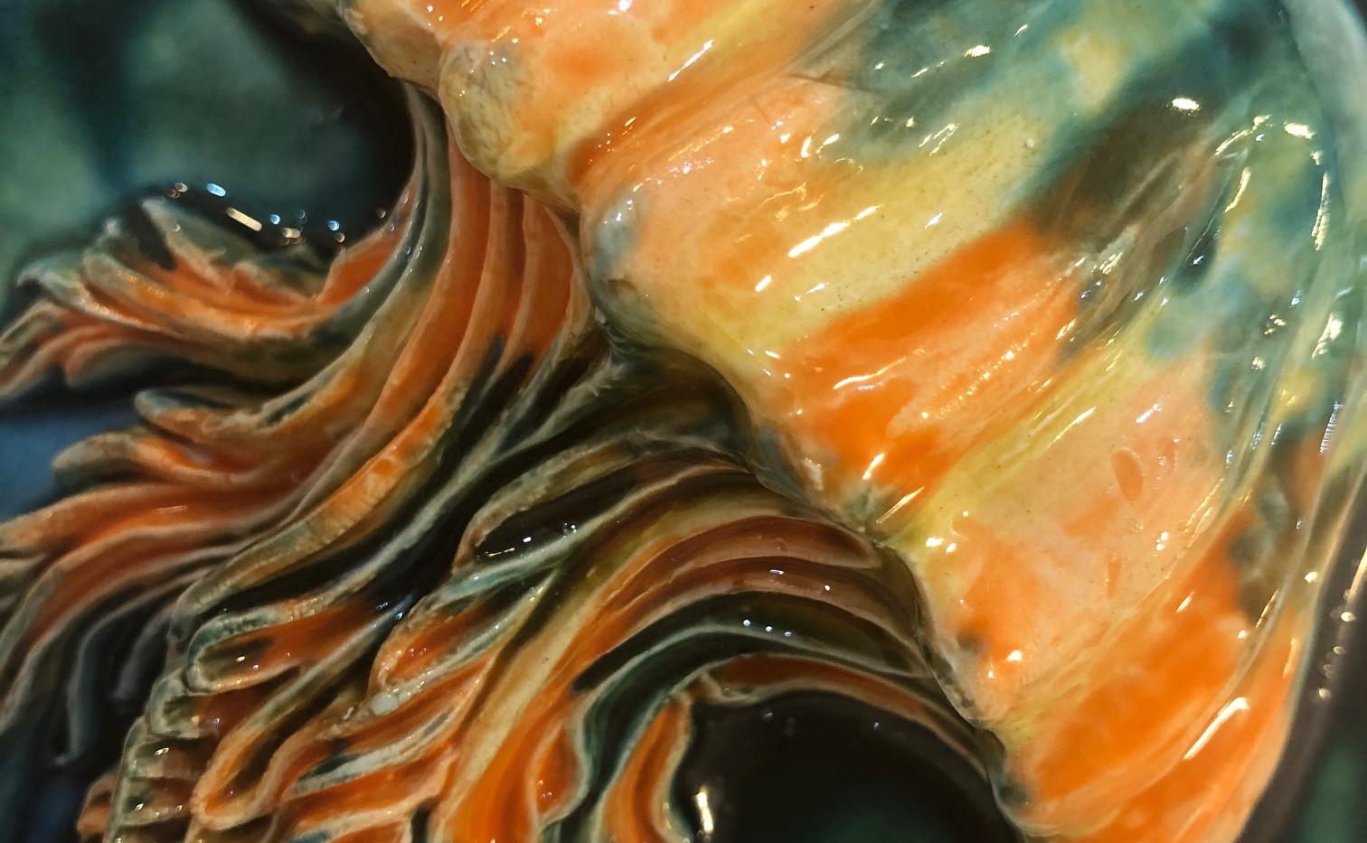 tile. Azulejos. Jellyfish. Maria #2