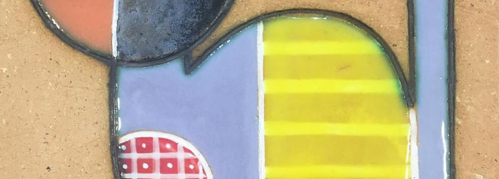Portuguese tile. Azulejos. Cat.Mario #2