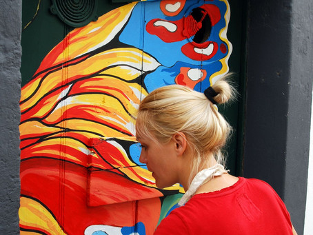 Art through the prism of Olga Drak, one of the artists for project artE de pORtas abErtas