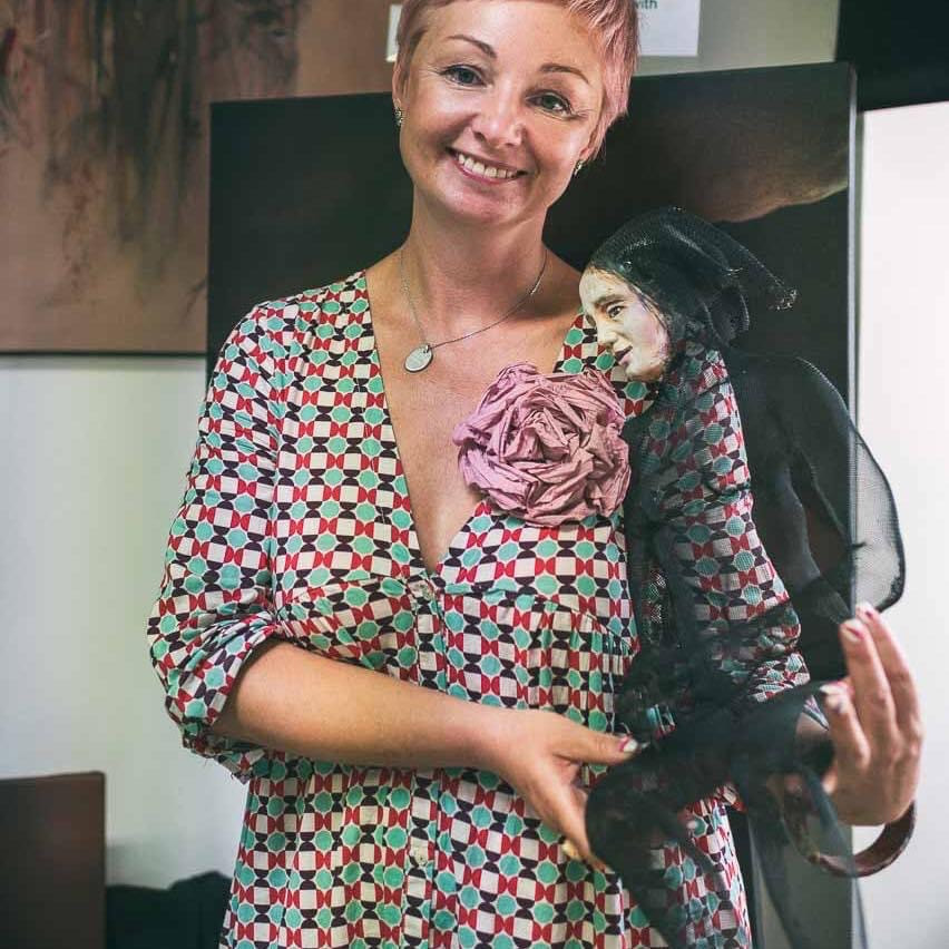 "Sveta Azernikova, art director of Art Center Caravel..""from Russia with love"""