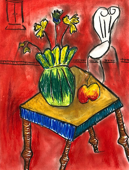 Freta NGO.   STILL LIFE WITH CHAIR