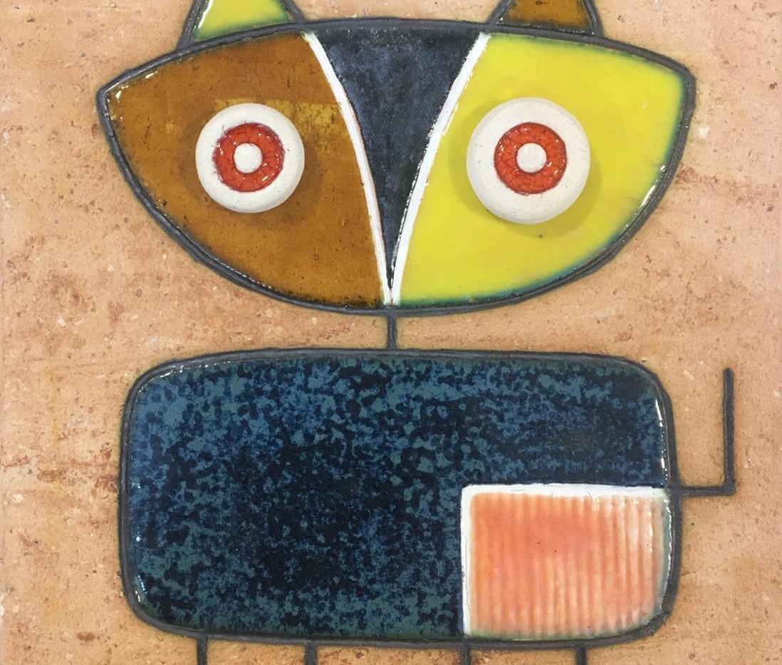 Portuguese tile. Azulejos. Cat.Mario #3