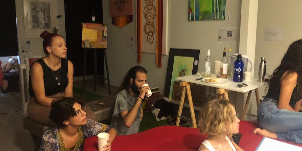 """Jean-Michele Basquiat"". An introductory talk by art curator Cefyn Embling-Evans"