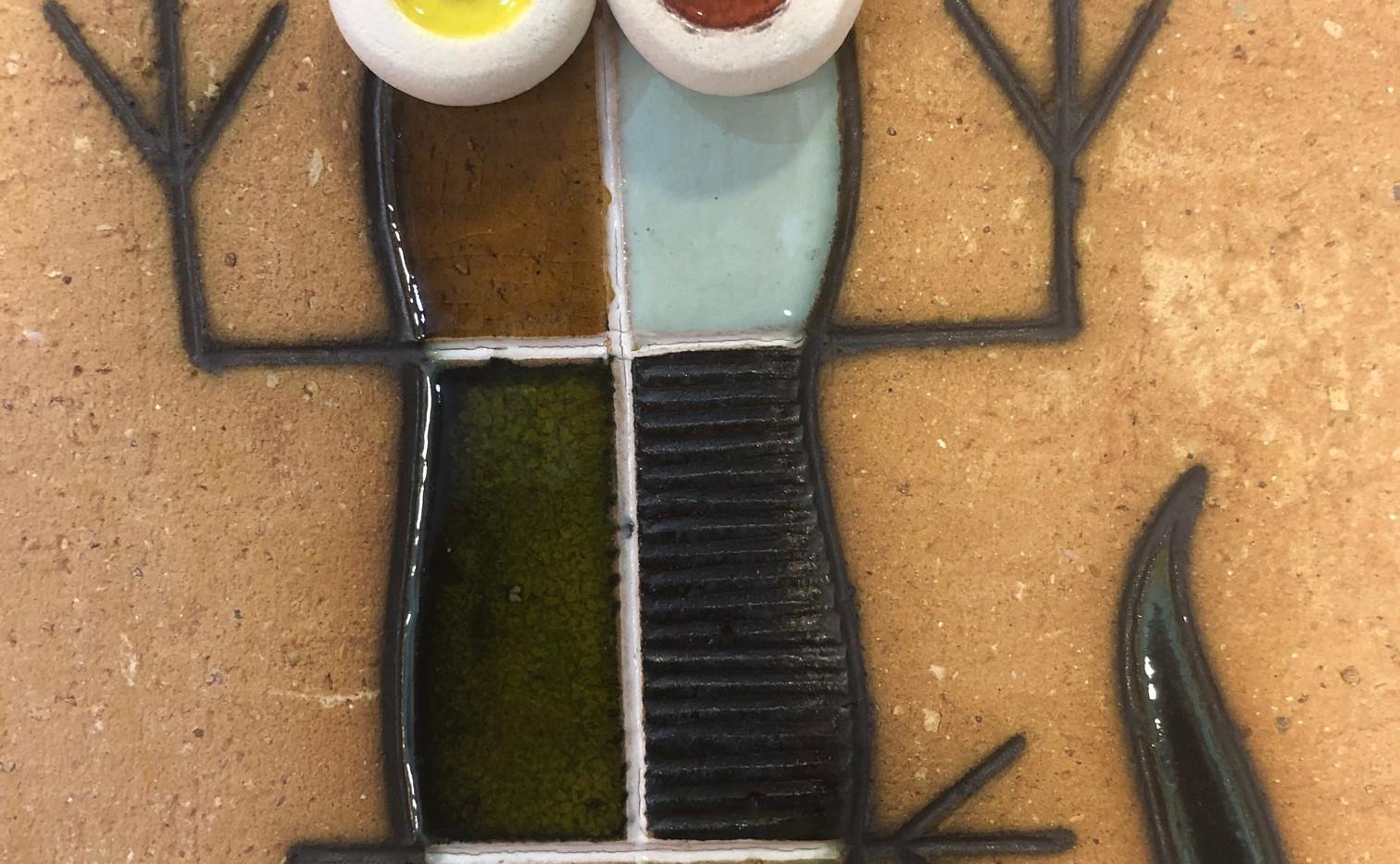 Portuguese tile. Azulejos. Lizards. Mario #4