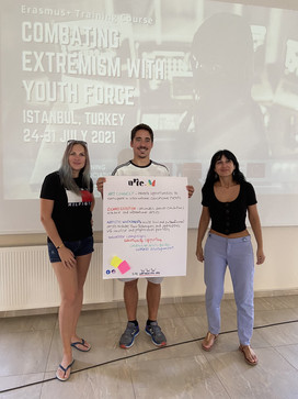 Erasmus+ Training Course: Combating Extremism with Youth Force. August 2021, Turkey
