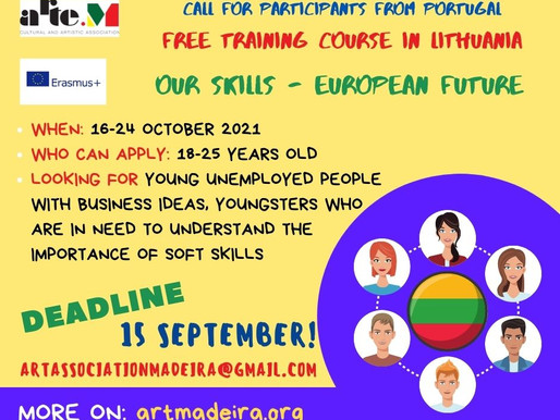 OPEN CALL for training in Lithuania - Importance of soft skills for better job opportunities.