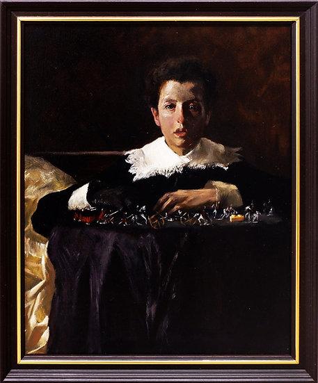 Samuel Santos. CHILD AS FATHER OF THE MAN -LUIGIELLO AT PLAY
