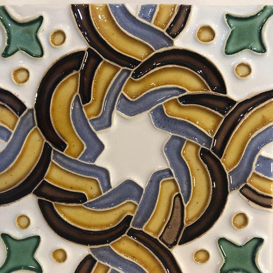 Portuguese tile. Azulejos.Luso 3.