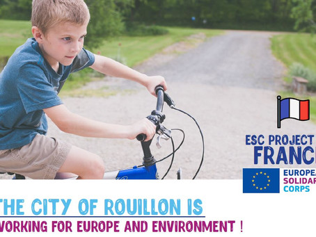 The city of Rouillon is working for Europe and environment !NEW CALL FOR PORTUGAL