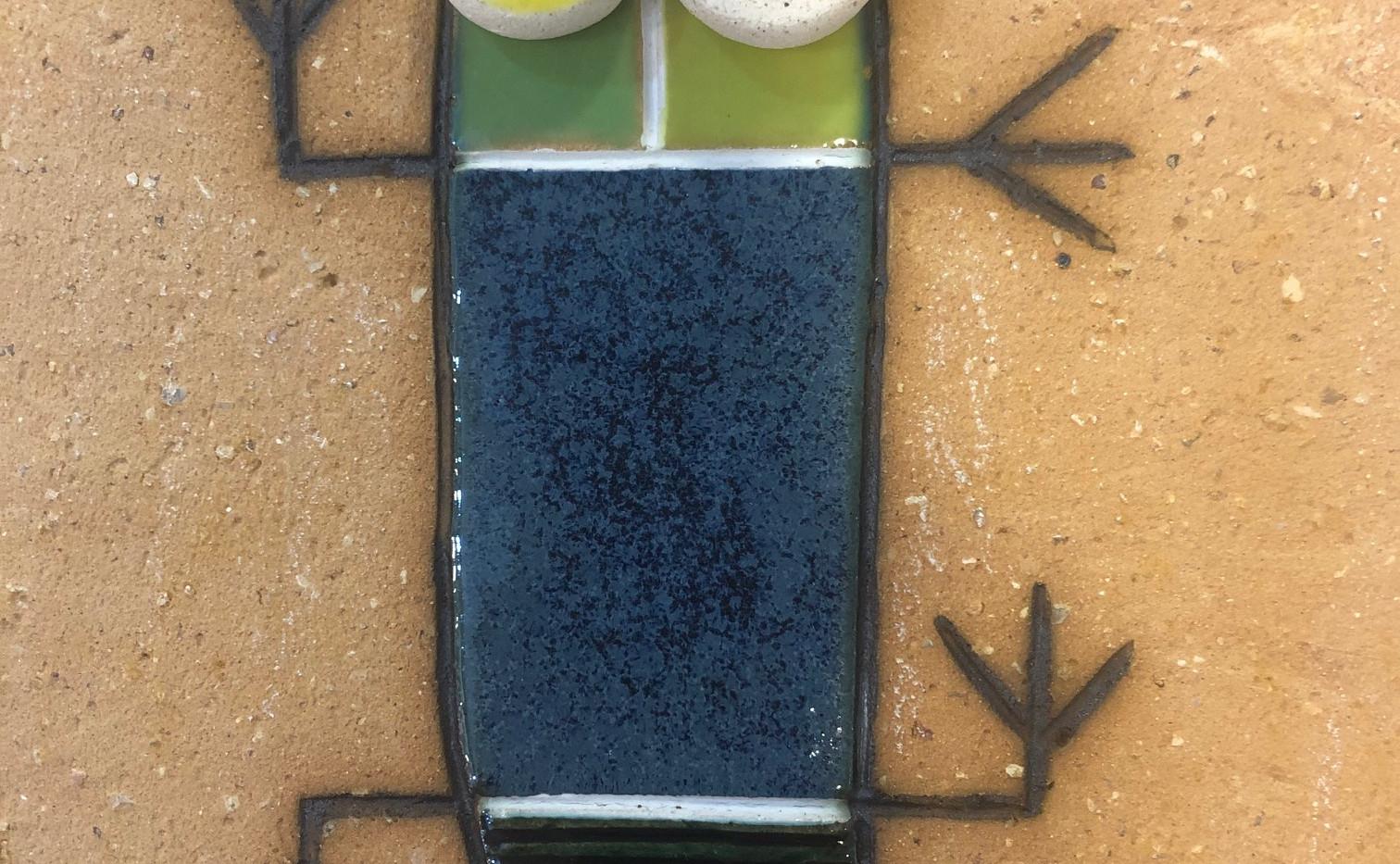 Portuguese tile. Azulejos. Lizards. Mario #5