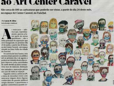 Mass media about Art Center Caravel 2020