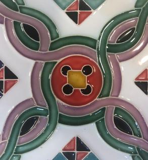 Portuguese tile.Azulejos. Luso.2