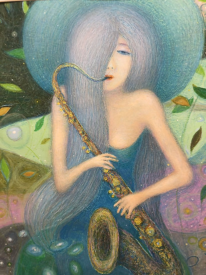 Derkach Alexander.   LONELY BLUES -I