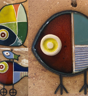 Portuguese tile. Azulejos. Mario.Fishes #all2
