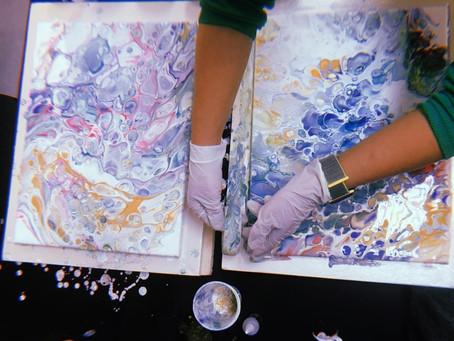 Workshops at Art Center Caravel with ARTE.M