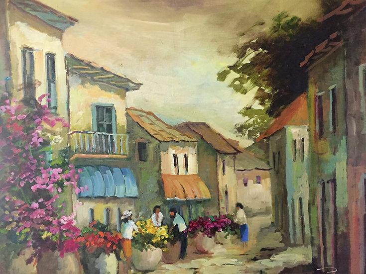 Sonia Poli.STREET OF FLOWERS