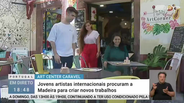 Our association on National Portuguese TV, RTP