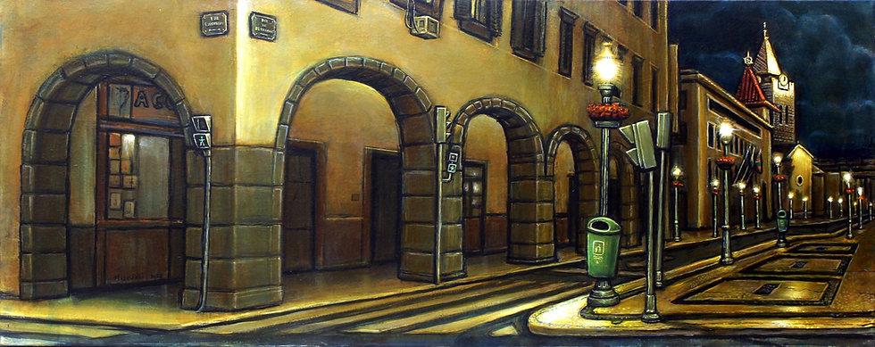 Marcos Milewski. ARC OF MIDNIGHT(Rua de Bettencourte)