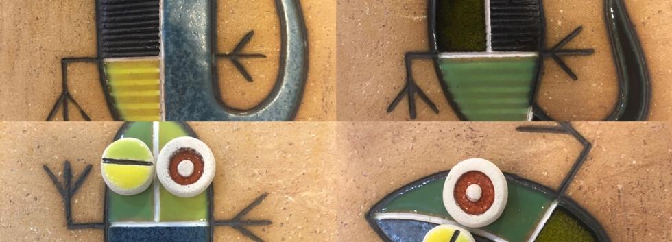 Portuguese tile. Azulejos. Lizards. Mario #choice 2