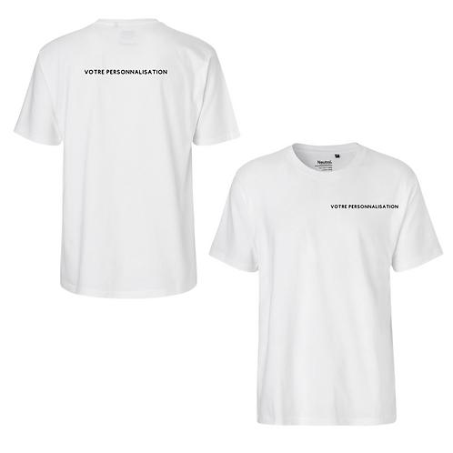 T-shirt personnalisable homme