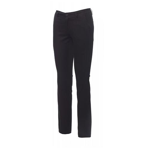 Pantalon femme coupe droite noir