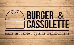 Burger et cassolette