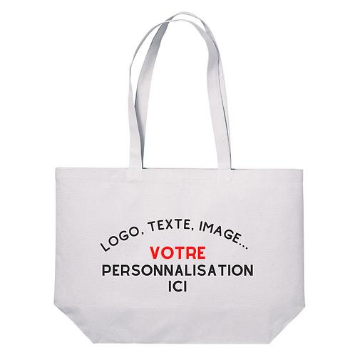 Tote bag personnalisable coton organique sac en tissus léger