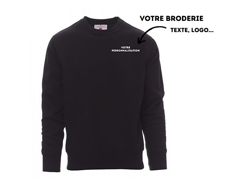 Pull personnalisable brodé