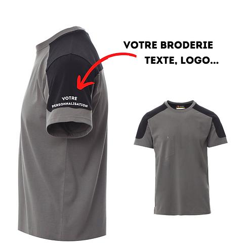 t-shirt personnalisable gris