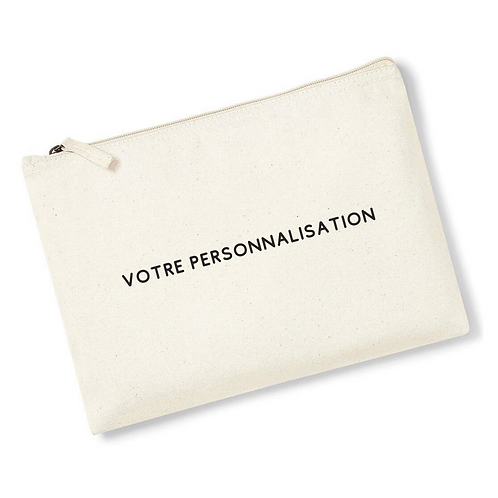 Mini pochette personnalisable