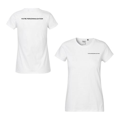 T-shirt personnalisable femme