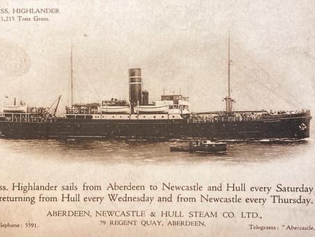 SS Highlander - from Coastal Passenger Steamer to War Hero