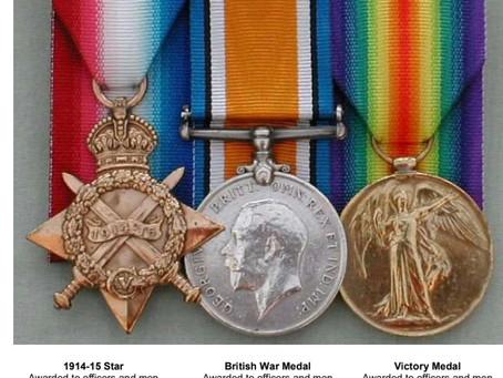 Pip, Squeak & Wilfred (World War 1 Campaign Medals)
