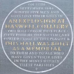 The Haswell Pit Disaster of 1844