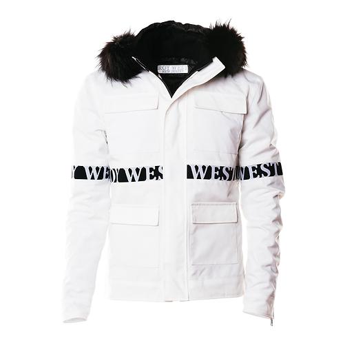 White Militant Jacket
