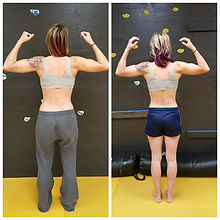 6 week before/after
