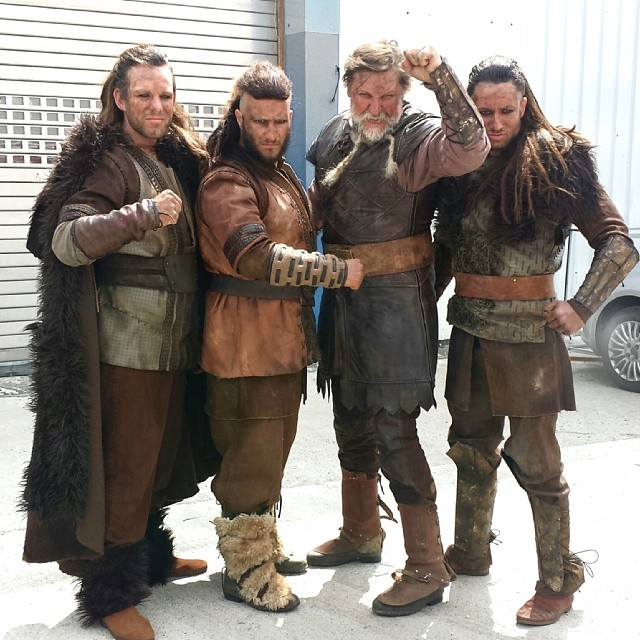 Instagram - The new commercial of #yes #vikings #makeup and #hair @omerasaf Costume design @yaelshen