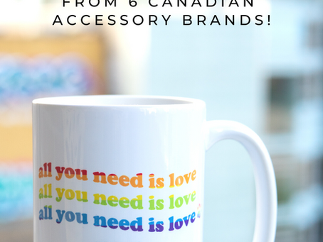 Show Your True Colors! Pride Inspired Gifts for You & Your Pet! 6 Canadian Accessory Brands! 🌈